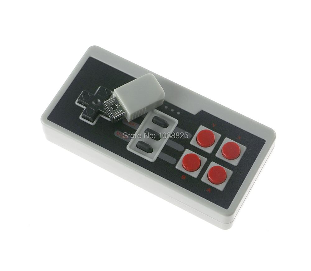 Mando a distancia inalámbrico para consola de juegos FC/NES NS Nintendo EDICIÓN CLÁSICA, accesorio de controlador con Cable de carga USB