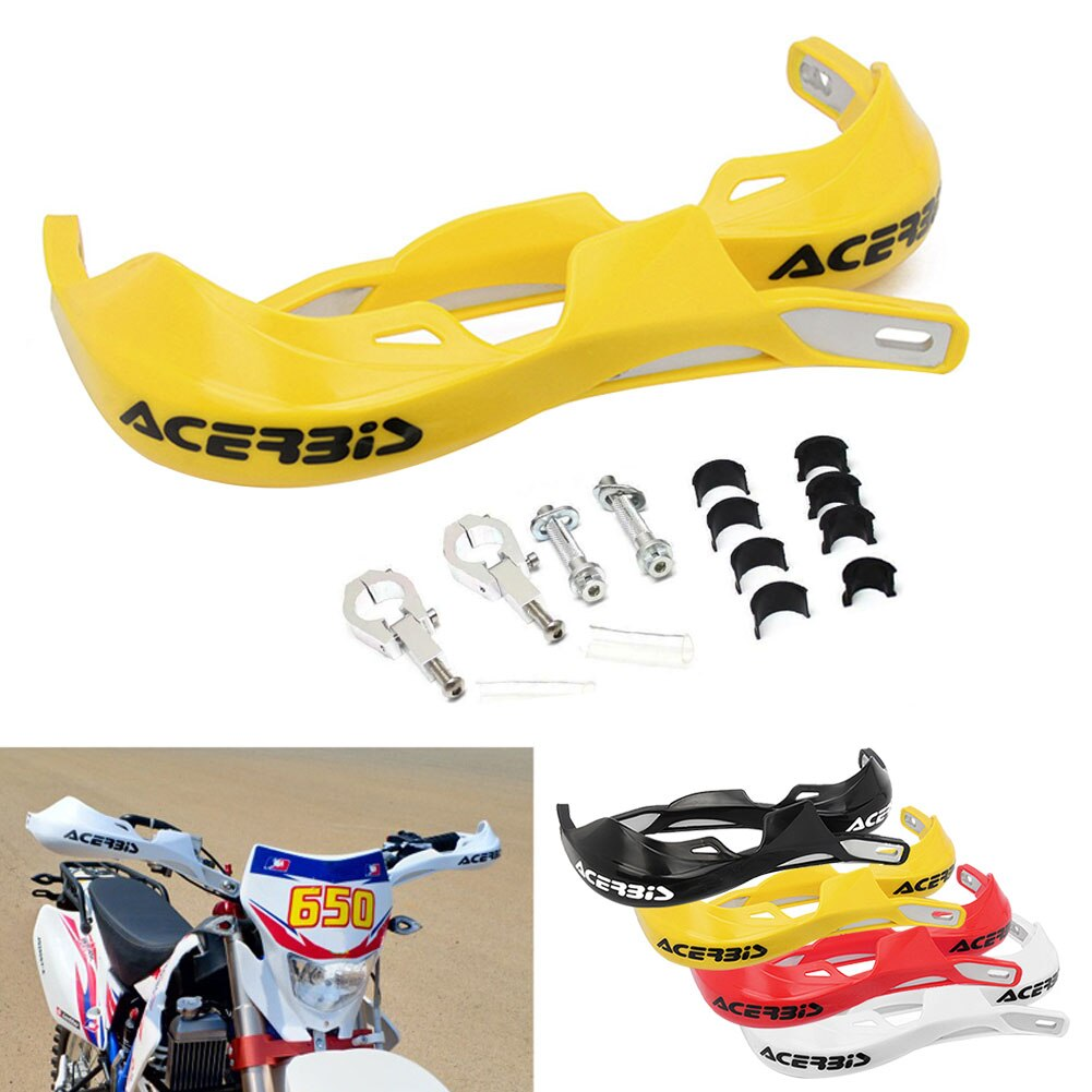 1 Pair 22mm 28mm Motorcycle Hand Guard Handle Protector Shield Motorbike Scooter Windproof Handlebar HandGuards Protection Gear