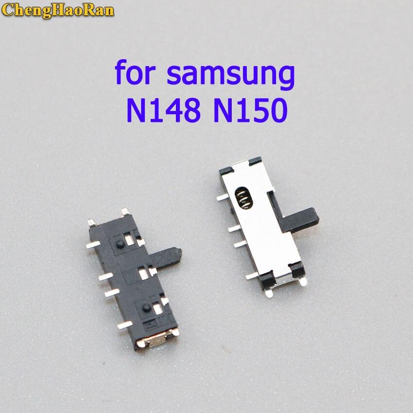 ChengHaoRan 1 piezas botón interruptor de llave para samsung N130 N140 N145 N148 N150 de interruptor deslizante N135 N210 n220 NB30