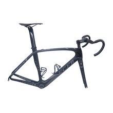 2017 FCFB karbon yol bisikleti Pro01 yol karbon çerçeve 49/52/54/56cm mat BSA bicicleta yol bisiklet iskeleti karbon gidon