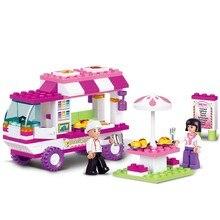 Juego de juguetes de bloques de construcción compatibles con Legoings para niños educativos DIY regalos de Navidad para niñas y amigas