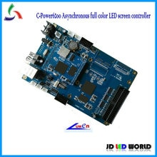C-power6200 تحكم متزامن الفيديو أدى الشاشة/دعم p3 ، p4 ، p5 ، p6 ، p7.62 ، p10 ، p16 أدى حدة العرض