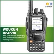 Best Price KG-UV9D Walkie Talkie 5W Dual Band Dual Display 999CH 136-174/400-512MHz Air Band Receive Two Way Radio