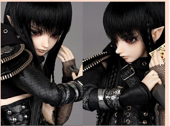 1/4 AQK (AQK) Bjd muñeca es un micro sd duende masculino 1/4 Bjd muñeca sin maquillaje + el punto ojos libres