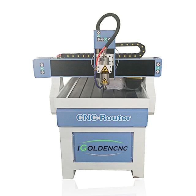 China económica 3D Mini CNC Router 6090 publicidad molde grabado máquina ventas en la India