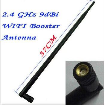 Antena de espuma 2.4 ghz 9dbi, antena preta sem fio fio de fi8918w fi8910w fi9821w fi9821p �� câmera de ip interna