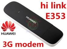 Débloqué huawei E353 HiLink 3G usb Modem 3g Mobile haut débit 3g stick 3g dongle huawei modem pk e3131 e1750 e173 e169 e1550