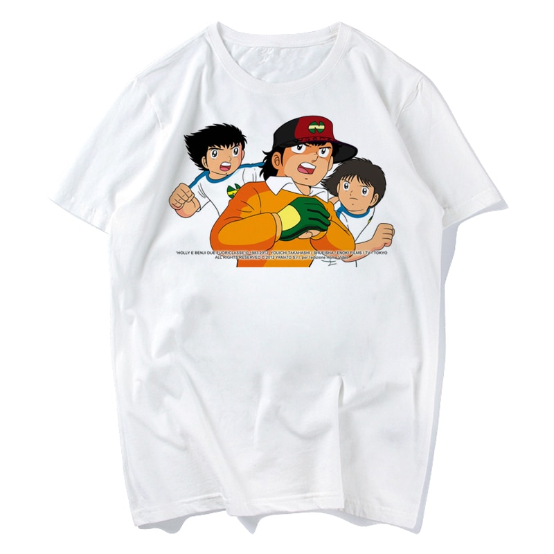 Captain Tsubasa 2018 модная короткая футболка с принтом забавная футболка мужские топы футболки Плюс Размер s-xxxl
