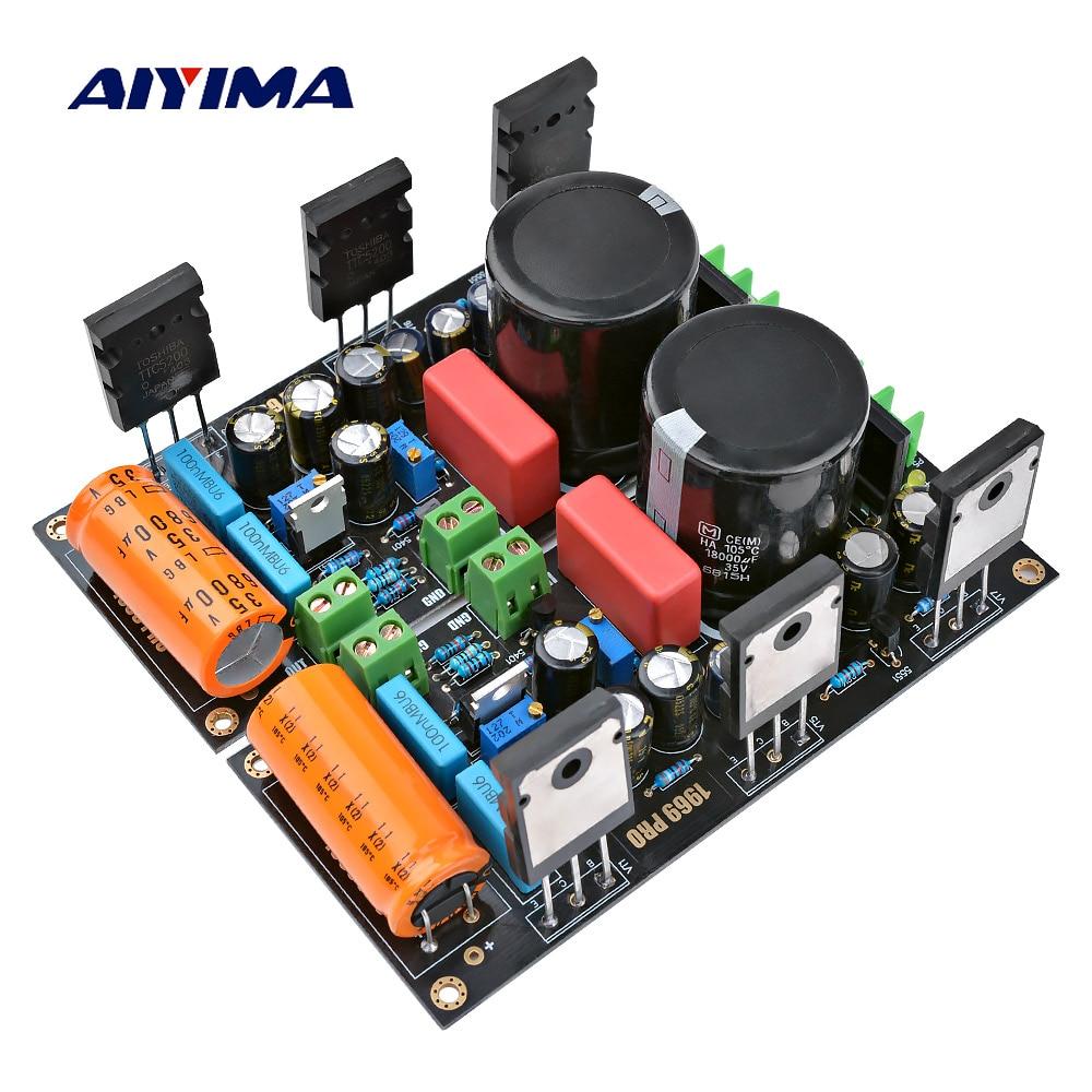 مكبر صوت من AIYIMA عدد 2 قطعة بقوة 25 واط لوحة صوت مضخم صوت 1969 2SC5200 HD1969 مكبرات صوت من الفئة أ أمبير مع منظم جهد 1083
