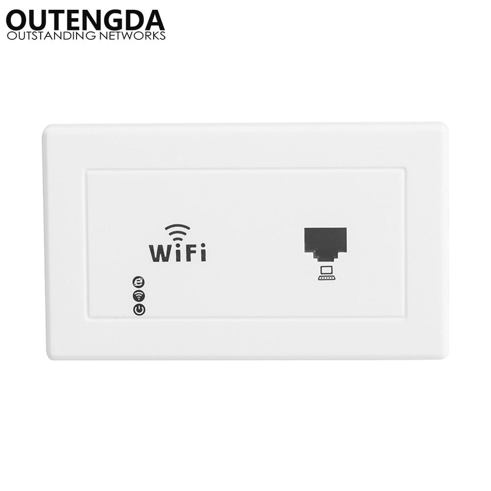 300 Мбит/с 118 стандарт США настенное крепление беспроводная точка доступа Розетка WiFi Диапазон Ретранслятор расширитель маршрутизатор для го...