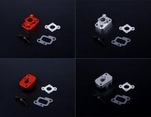 CNC metal engine intake part kit fit Zenoah Rovan 32cc 36cc 45cc Baja 5B 5T 5SC LOSI 5IVE-T