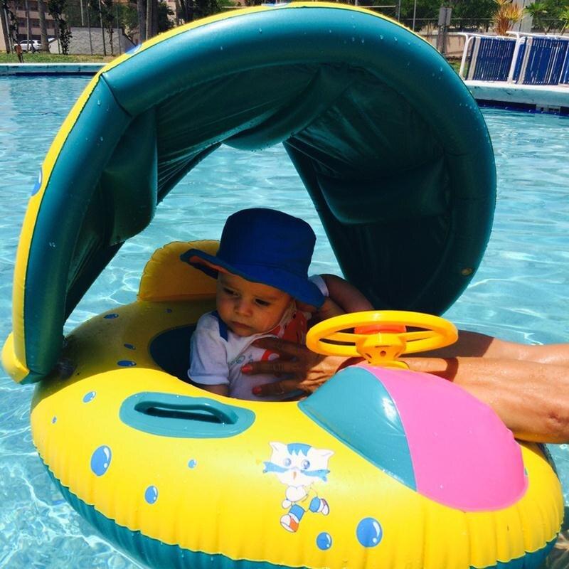 Детское летнее Надувное сиденье OLOEY Аксессуары для бассейна солнцезащитное