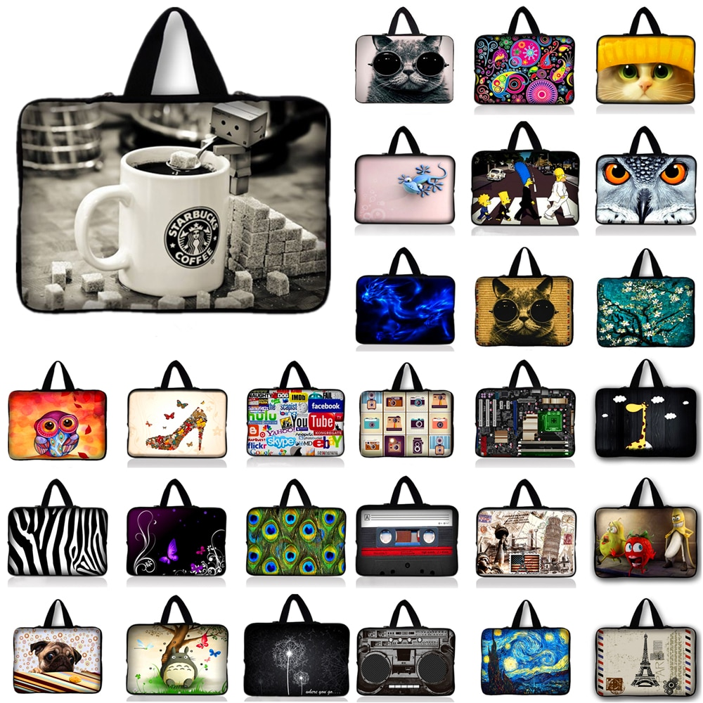 Coffee Cup notebook laptop sleeve bag case For Asus HP Acer Lenovo 10.1 11.6 12 13.3 14