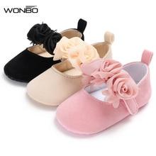 Chaussures dautomne en coton pour bébé 0-18M   Nouveau style fleuri, chaussures de princesse pour bébé fille, chaussures mignonnes pour bébé