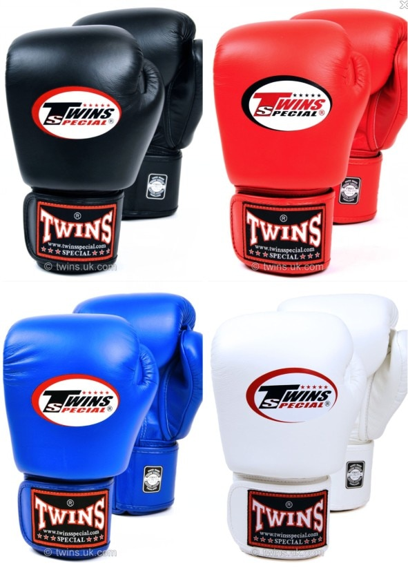 Guantes gemelos de 8, 10, 12 y 14 oz, Guantes de piel sintética para entrenamiento de boxeo negro, Guantes para hombres y mujeres, Muay Thai