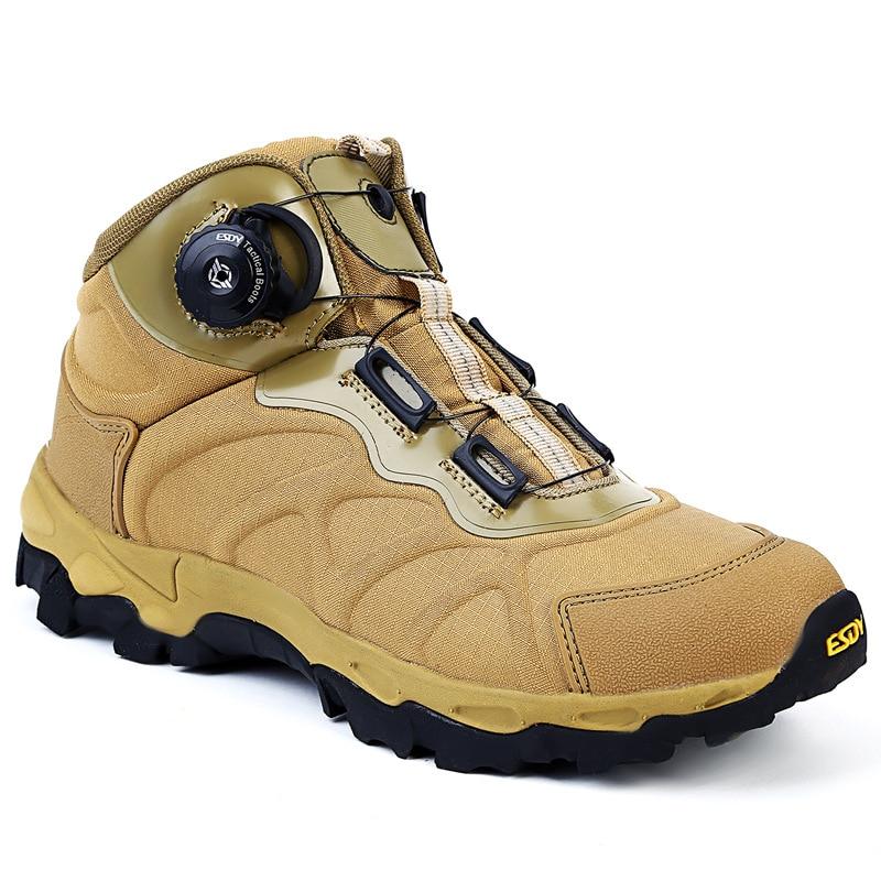 Мужские военные тактические ботинки BOA на шнуровке, легкая обувь быстрого реагирования, спортивная обувь для пеших прогулок, модель EU45, 2019