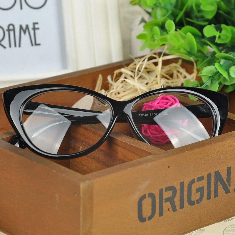 Mode Keuze Kat Bril Frames Vorm Gewoon Glas Bril Vrouwen Brillen Frames Decoraties Optische