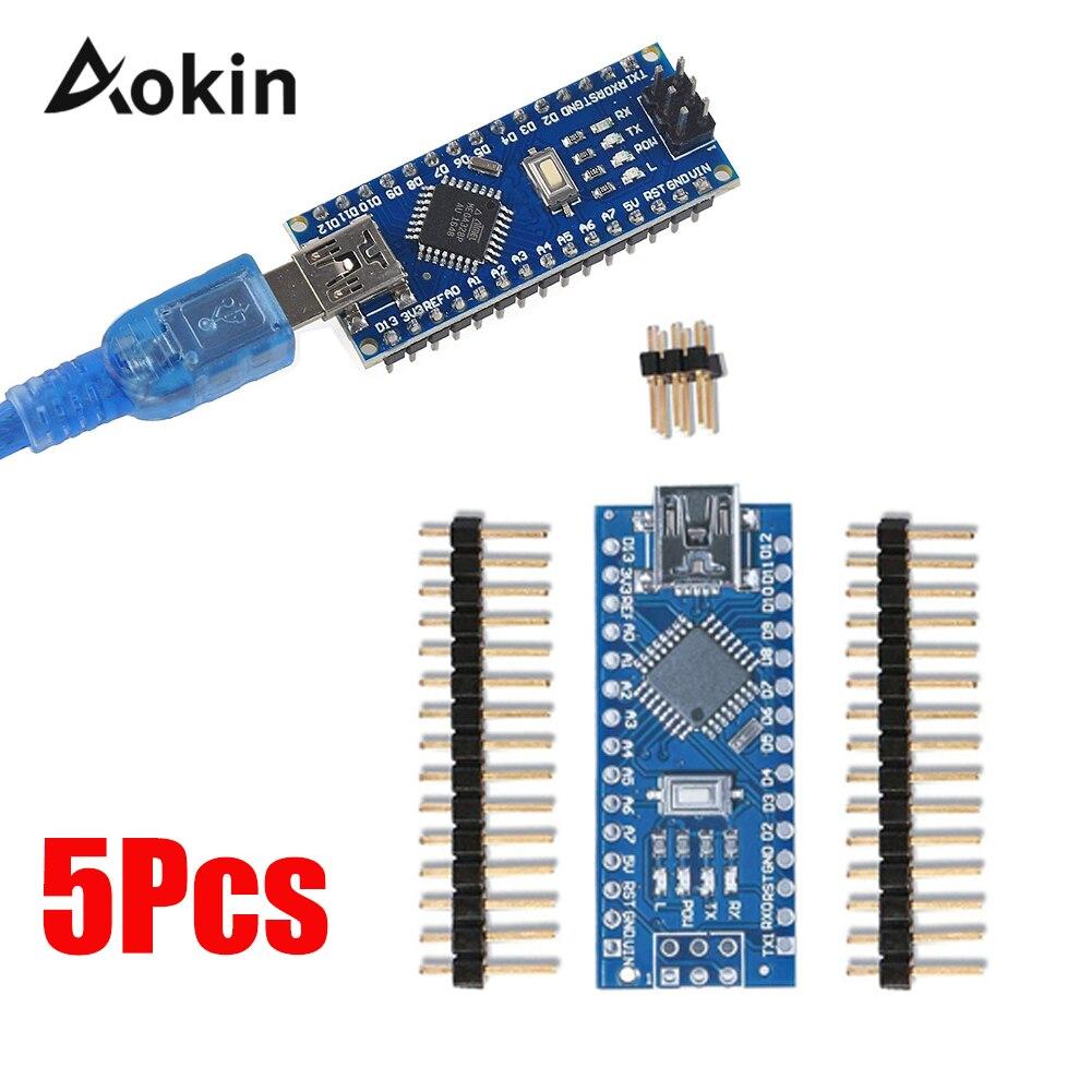 5 шт. Nano Mini USB с Загрузчиком совместимый