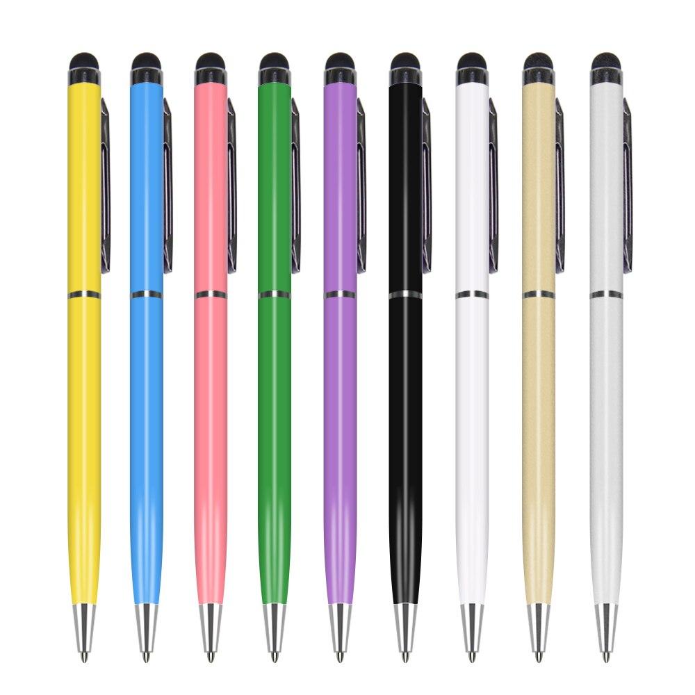 قلم لمس 2 في 1 لجهاز Ipad Itouch Iphone 8X7 6 5 ، جودة عالية ، جديد ، للكمبيوتر اللوحي والهاتف الخلوي والكمبيوتر الشخصي ، 200 ps