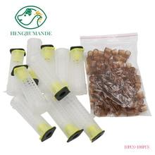 1 Set of Queen Breeding Queen Cage King Platform Protective Cover Beekeeping Utensils Exported for Sale Bee Tools