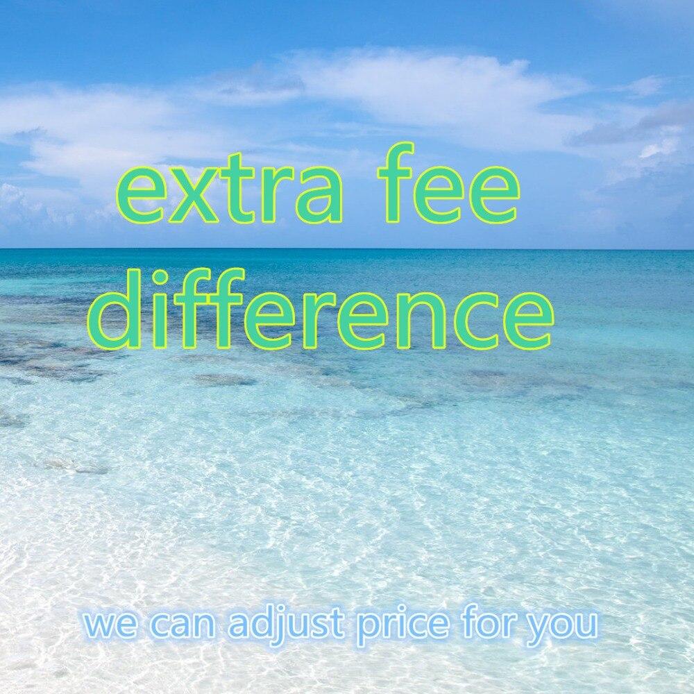 Tarifa adicional CITALL, diferencia de precio del franqueo adicional, devolución del dinero, productos personalizados, podemos ajustar el precio para usted
