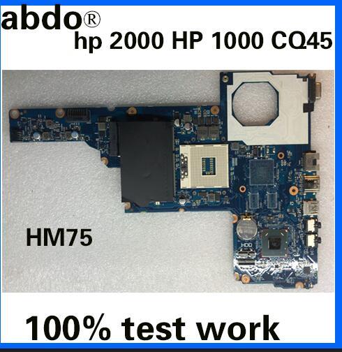 Placa base para portátil HP 2000 450 Tablero Principal 685107-001 685107-501 PGA989 HM75 J8F DDR3 probada completa