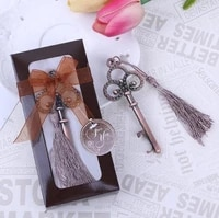 free shipping antiqued key bottle opener wedding favors and gifts wedding souvenirs wedding gifts for guests sn1024