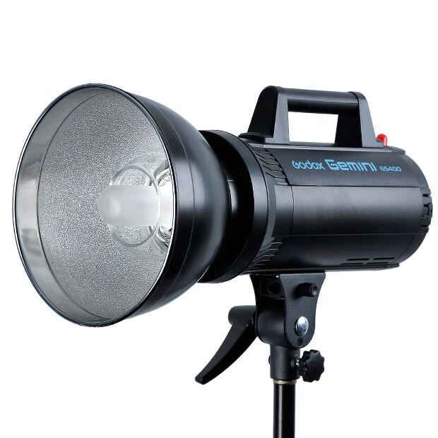 Godox GS400 400W 400Ws 220V Estudio de alta velocidad estroboscópico foto Flash lámpara cabeza para retrato de moda boda arte fotografía