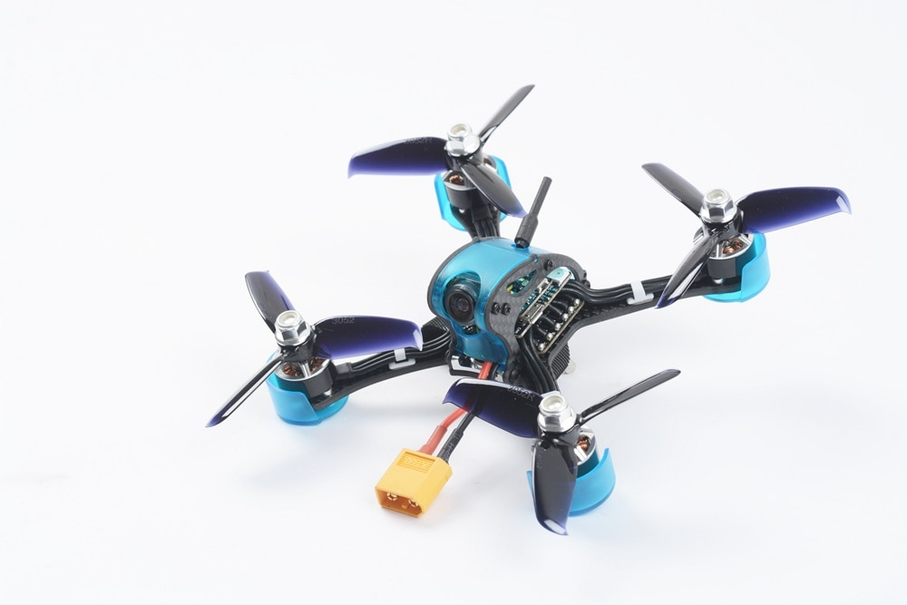 GOFLY-RC Falcon CP130 130mm 5.8G 48CH Mini RC quadrirotor PNP course Multirotor Drone F3 OSD 20A ESC 700TVL caméra VTX