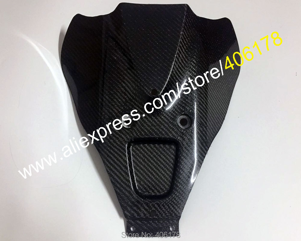 Gran oferta de fibra de carbono carenado para Suzuki HAYABUSA GSXR1300 1997, 1998, 1999, 2000 01 02 03 04 05 06 07 vientre Pan/menor Spoiler Kit