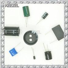 Condensateur électrolytique 450 V 400 V 1/2. 2/3. 3/4. 7/6. 8/10/22/33/47/68/100/220 UF 20 pièces/1 lot