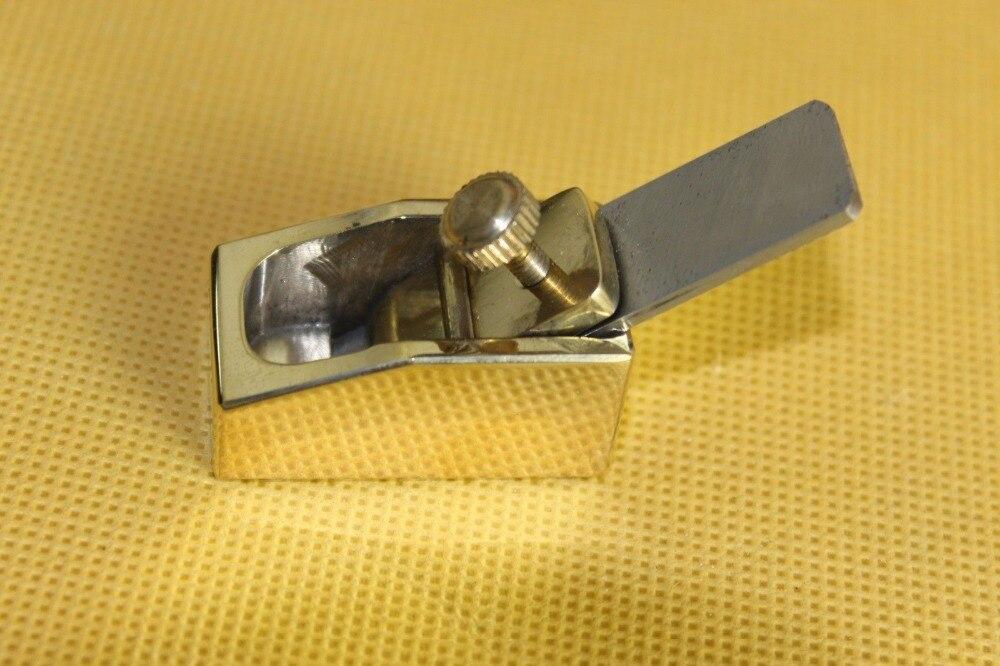 Violin/Cello making tools, 1pc flat bottom mini brass plane