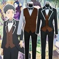 anime rezero kara hajimeru isekai seikatsu natsuki subaru cosplay costume formal dress custom made
