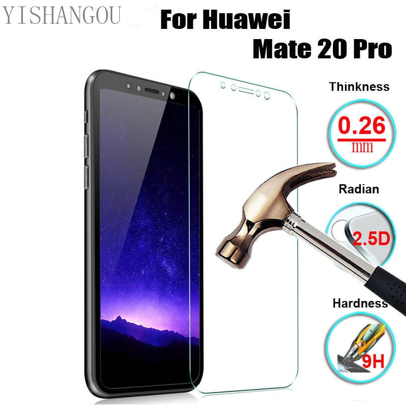 Закаленное стекло Защитная пленка для экрана чехол для Huawei Honor V30 Pro Nova 6 SE P30 P20 Mate 30 20 Lite P Smart Plus Y9 Prime 2019