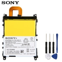 Original Ersatz Sony Batterie Für SONY L39h Xperia Z1 Honami SO-01F C6902 C6903 LIS1525ERPC Echtem Telefon Batterie 3000mAh