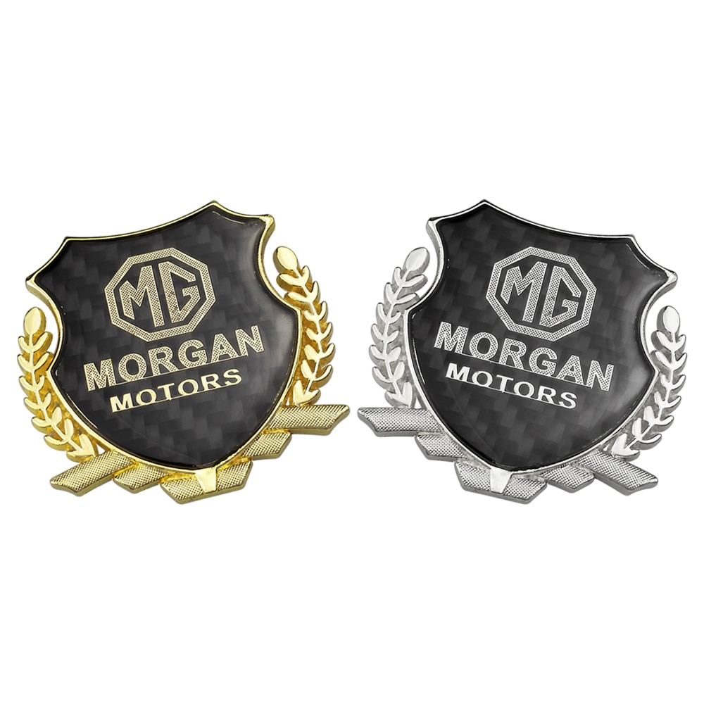 Etiqueta engomada decorativa del maletero trasero del emblema lateral del coche de Metal 3D para los accesorios de garajes de MG ZS ZT GS 350 3 5 6 7 GT TF 3SW