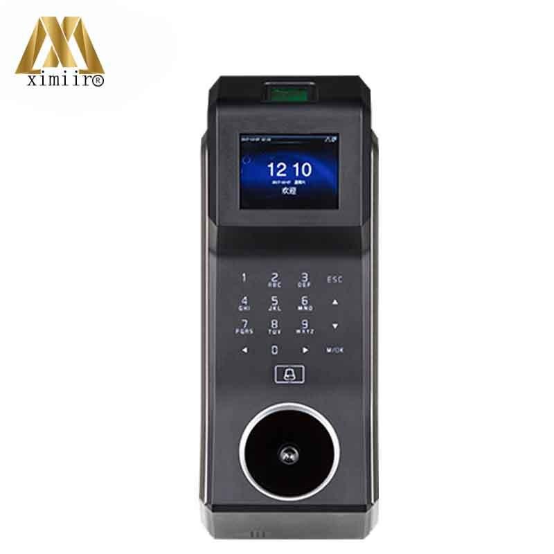 Sistema Controlador de Porta de Acesso da Impressão Digital de Controle de Acesso ZK Palma F30 Com 2.4 polegada TFT-LCD PA10 Comparecimento Do Tempo de Tela