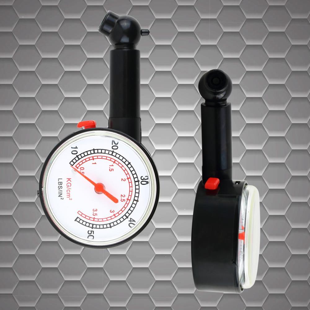 1 pçs ferramenta de medição de pneus pressão do carro veículo motocicleta dial medidor de pneu para economizar gás quente em todo o mundo