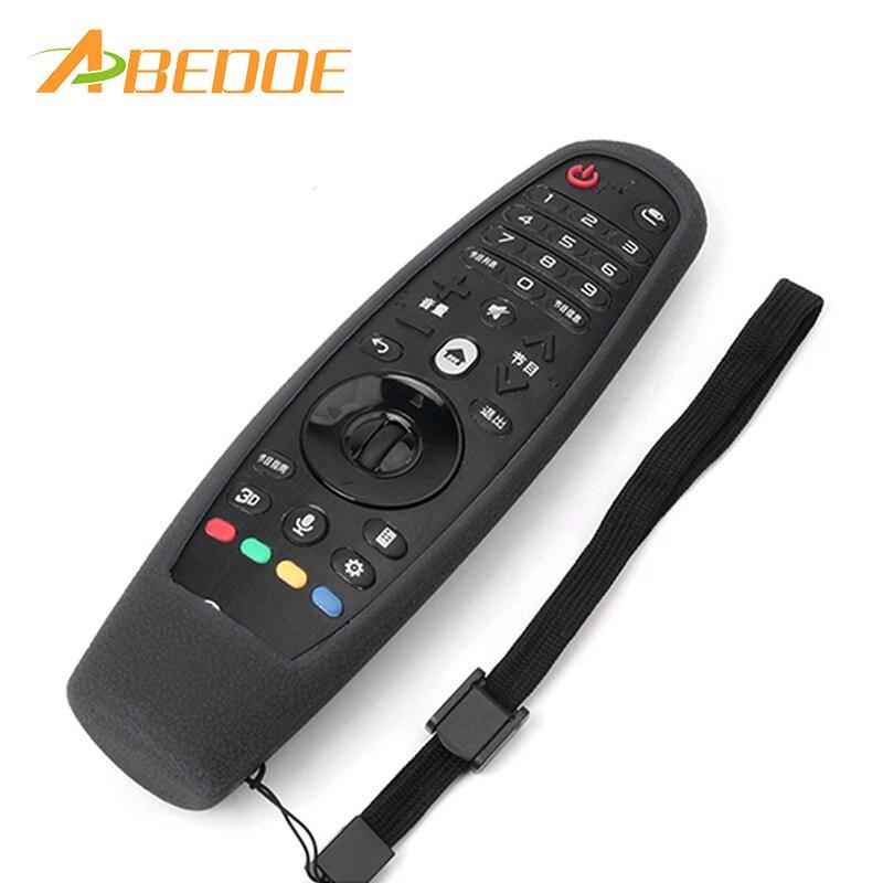ABEDOE, carcasa de silicona a prueba de golpes con Control remoto, funda para LG Smart TV, Control remoto, AN-MR600 AN-MR650 1 unidad