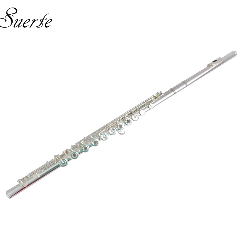 17 Open Holes Flute B footjoint Cupronickel Flutes French Key Italy Pads with Foambody Case Musical Instruments enlarge