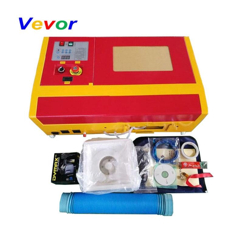 VEVOR-آلة قطع النقش بالليزر مع منفذ USB ، 50 واط ، مبرد بالماء