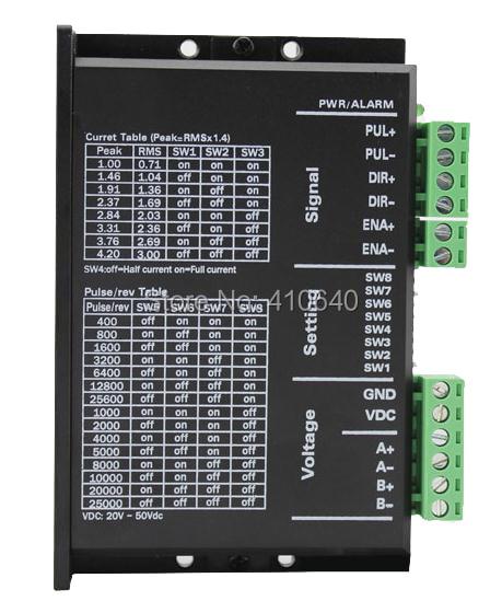 VIRUTA IMPORTADA! MC542 paso motor drive 24V-50VDC precio bajo nivel de ruido y de alto rendimiento ENVÍO GRATIS