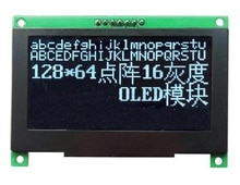 2.7 inch 7PIN SPI White OLED Module SSD1325 Drive IC 128*64