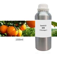 Fragancia de naranja de alta calidad, aceite esencial de aromaterapia para difusor, humidificador, fragancia de Spa, 1000ml