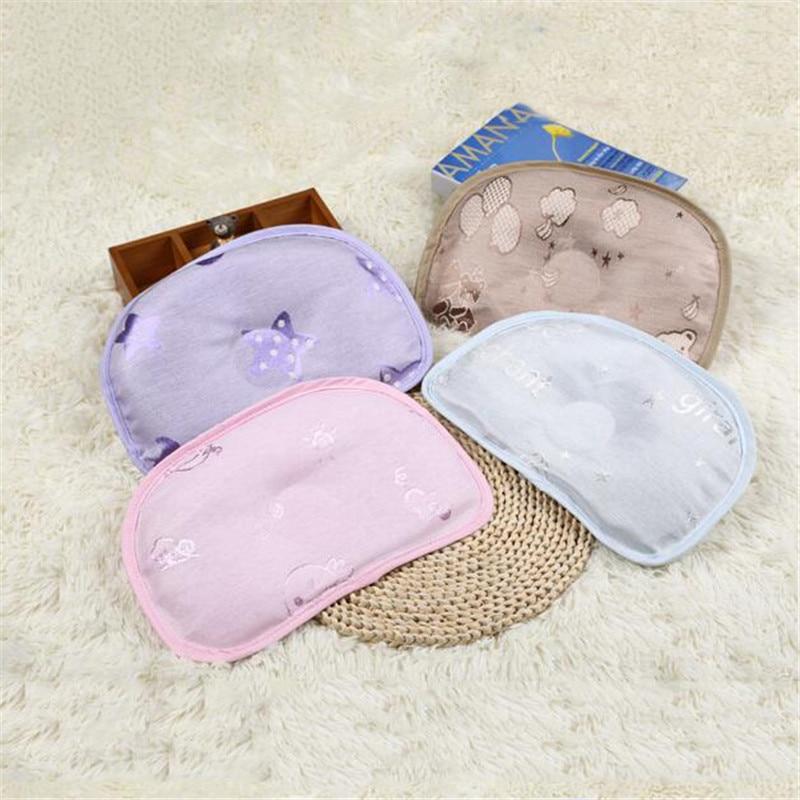 Verano Anti-cabeza forma almohada hielo seda transpirable fresco absorbente sudor fresco almohada ropa de cama en forma de almohada