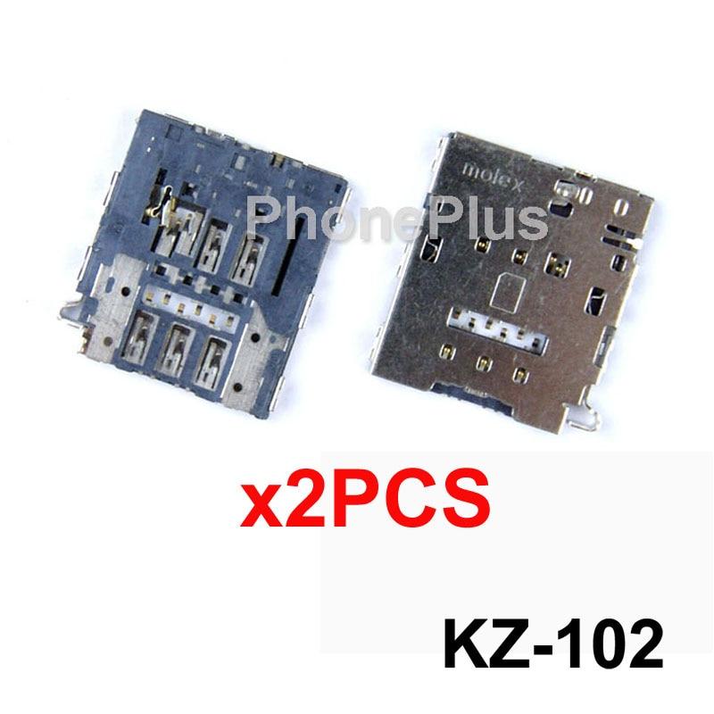 2/5/10/20 piezas para Samsung Galaxy E5 E7 A8 S6 borde S6 Edge + A9 SIM pieza de reparación de conector de enchufe de ranura de bandeja de tarjeta