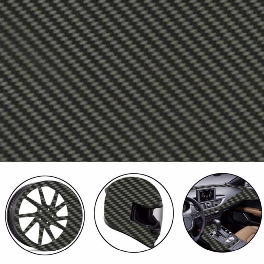 Filme de transferência de água prata & filme hidrográfico preto 50*300cm pva fibra de carbono preto hidrográficos filme de impressão de transferência de água