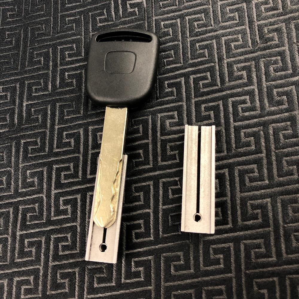CHKJ 2 teile/los Schlüssel Duplizieren Leuchte für Honda Externe Fräsen Clamp Key Chuck Universal Für Vertikale Schlüssel Schneiden Maschinen