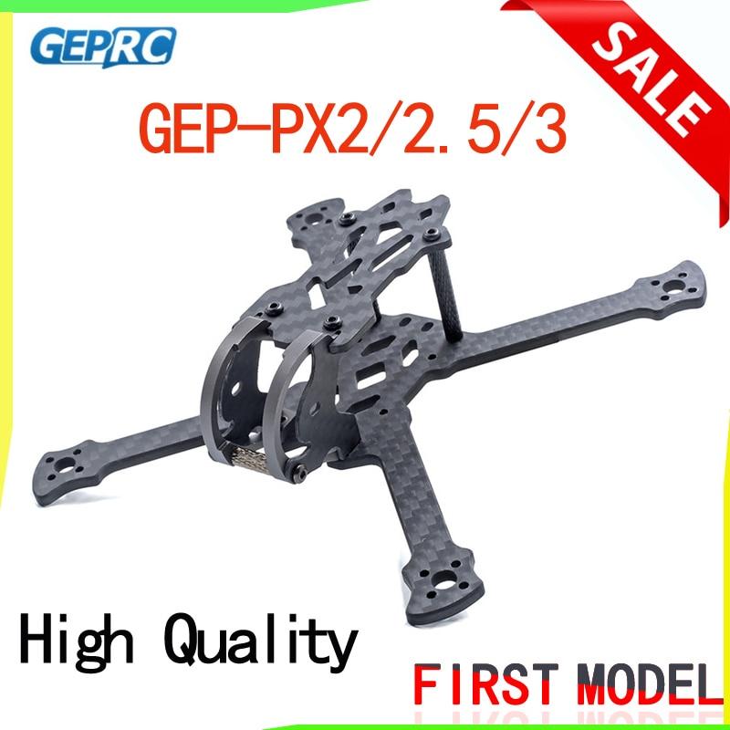 GEPRC GEP-PX2 115 мм/PX2.5 125 мм/PX3 140 мм Колесная база 3 мм рычаг 3 к карбоновая рамка Комплект для радиоуправляемого дрона DIY FPV гоночного квадрокоптера