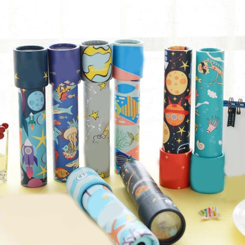 Caleidoscopio elegante con diseño de animales de dibujos animados, juguetes educativos de ciencia interactivos para niños y niñas, cuidado del autismo 1 unidad, nuevo